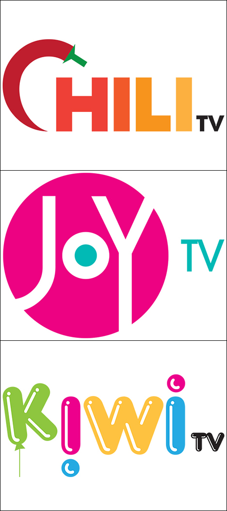 Chili TV - Joy TV - Kiwi TV logo